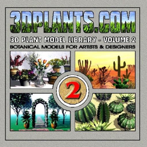 3D Plant Model Library Vol. 2