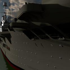 HMS Ark Royal - 3d-fame.de