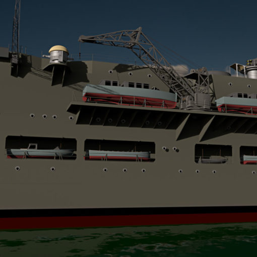 HMS Ark Royal - 3d-fame.de