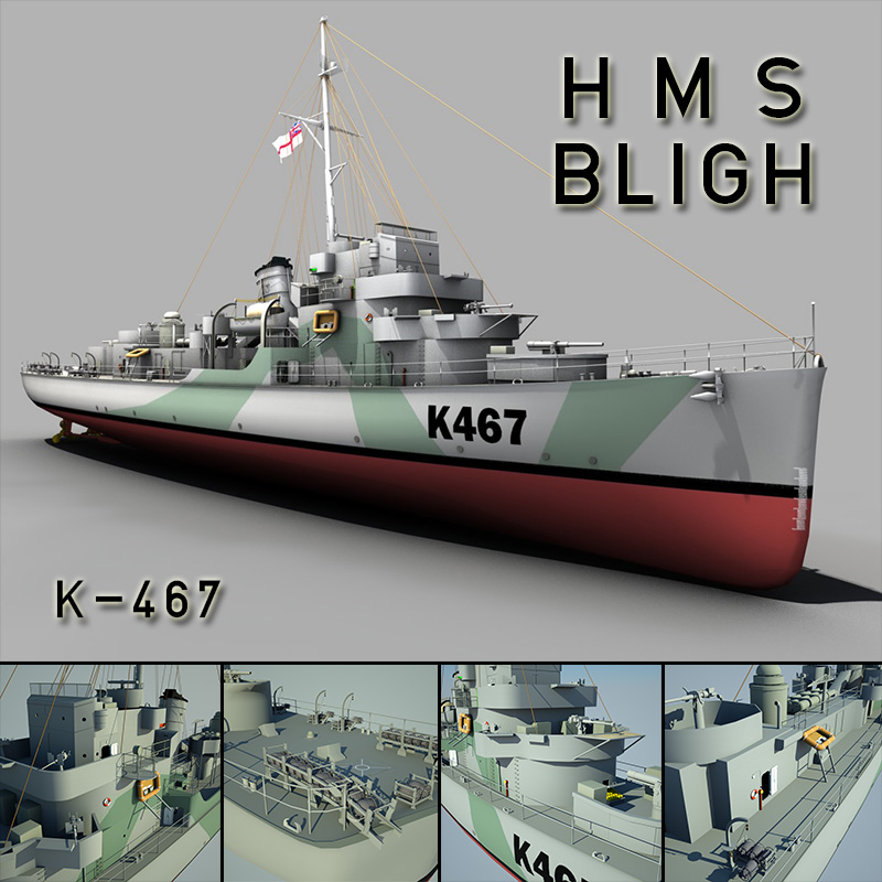 HMS Bligh K-467