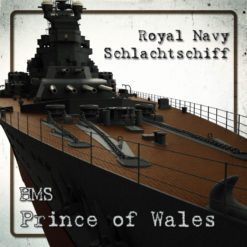 Schlachtschiff HMS Prince of Wales