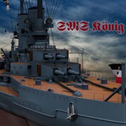 3D Modell SMS König