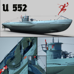 U552 Typ VII C U-Boot