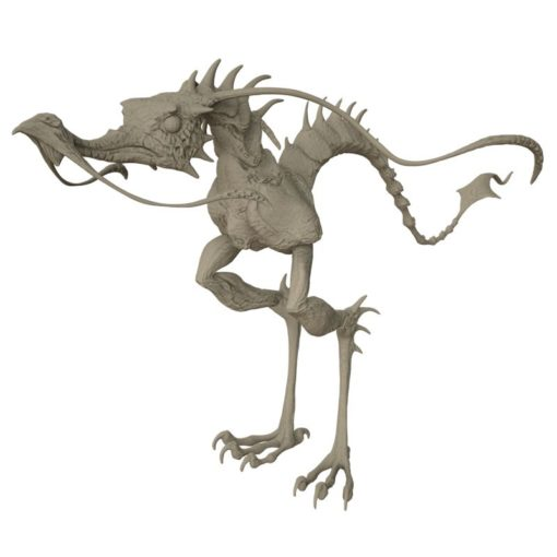 Dragon Hopper 3D-Modell untexturiert