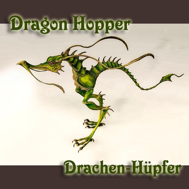 Dragon Hopper - Drachenhüpfer - 3D Modell für Vue