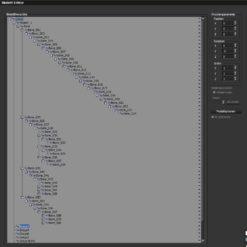 Dragon Hopper 3D-Modell Skelett-Editor in Vue