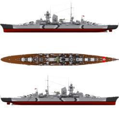 Schwerer Kreuzer Prinz Eugen Deutsche Kriegsmarine