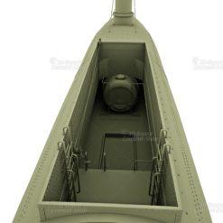 CSS David Konföderierten Torpedoboot 3D Model