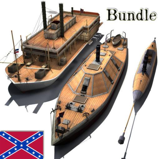 Südstaaten Spar Bundle 3 Schiffe