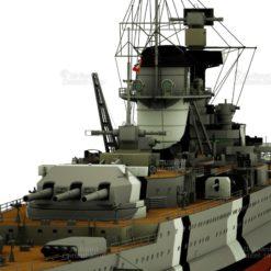 Panzerschiff Deutschland Schwerer Kreuzer Lützow 3D Model